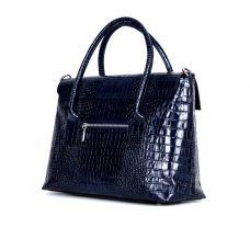 """сумка женская/синяя """"крокодил"""""""