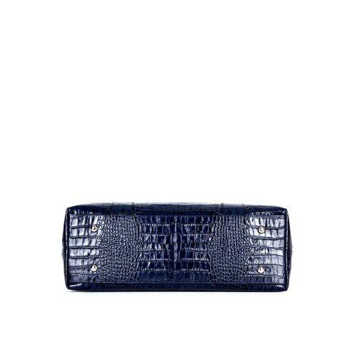 """сумка женская/синяя """"крокодил"""" 1265-1"""