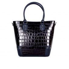 сумка женская/темно-синий крокодил