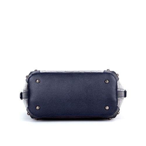 сумка женская/темно-синий крокодил 1267-1