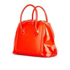 сумка женская/ сафьян красный/ полированная красная кожа