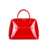 сумка женская/ красный лак
