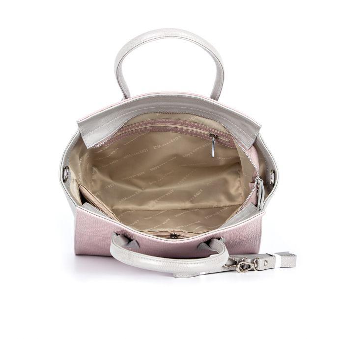 сумка женская/игуана виола/ящерица светло-серая 1067-3