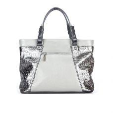 сумка женская/флотар кристалл серый