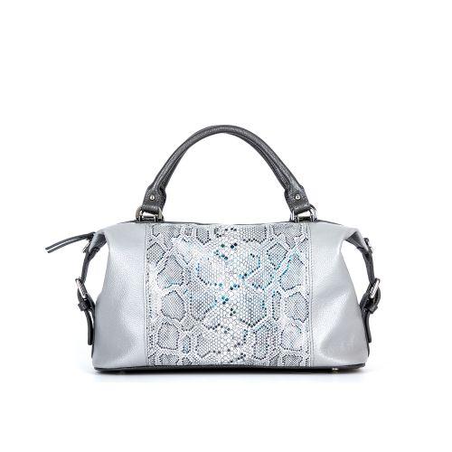 сумка женская/флотар кристалл серый/под рептилию 1242-2