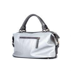 сумка женская/флотар кристалл серый/под рептилию