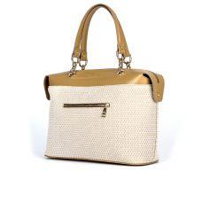 сумка женская/гелакси беж/цветочный принт 3702