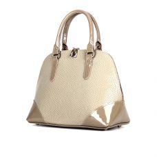 сумка женская/игуана таупе