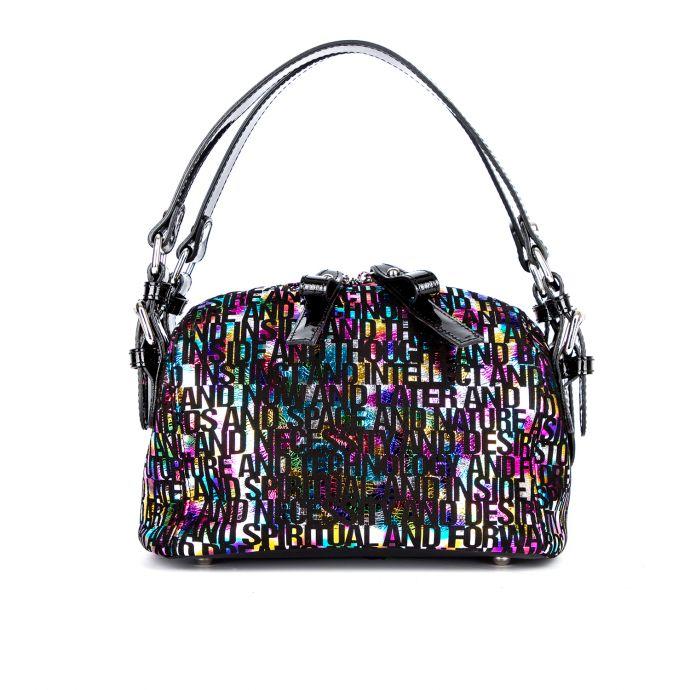 сумка женская/8290/черный лак 573