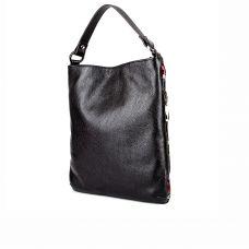 сумка женская/8096/черная кожа