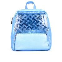 рюкзак/флотар перламутровый голубой