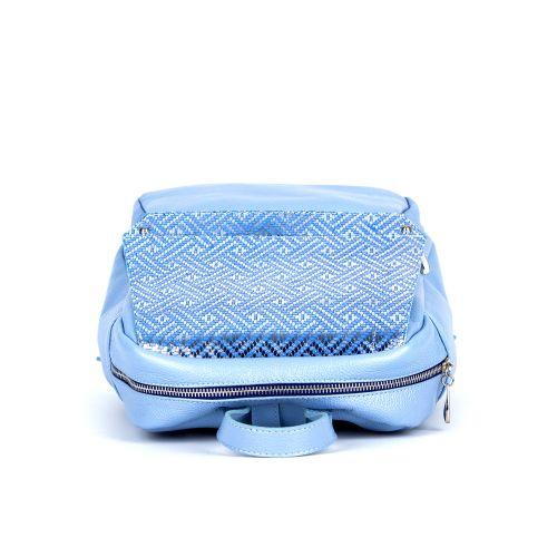 рюкзак/флотар перламутровый голубой 1103-3