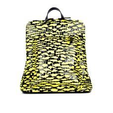рюкзак/лимонно-черный