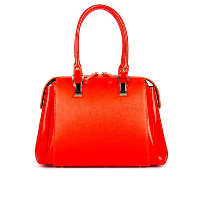 сумка женская/сафьяно красный 832-2