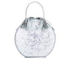 """сумка женская/ламинированная кожа """"под серебро"""""""