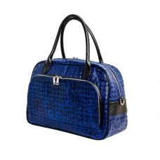 Дорожная сумка/синий крокодил