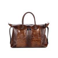 сумка женская/крокодил коричневый