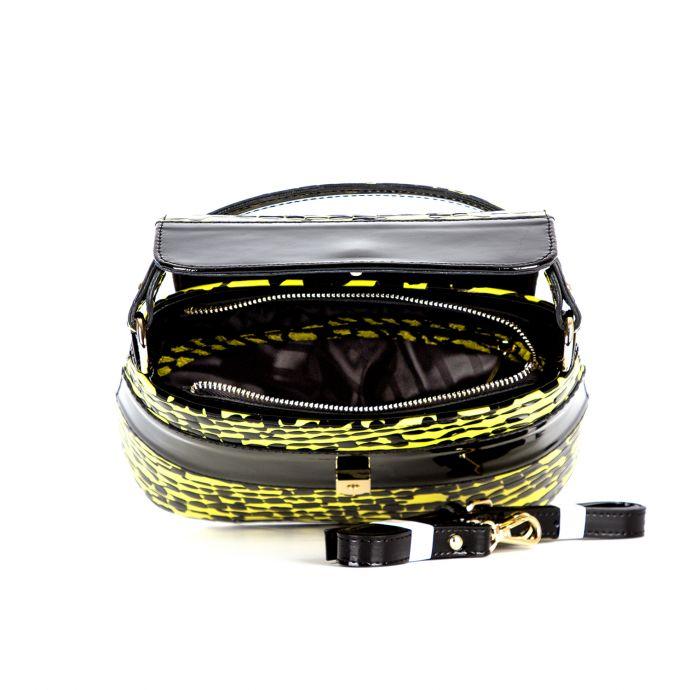 сумка женская/черно-желтая  1250м.-1