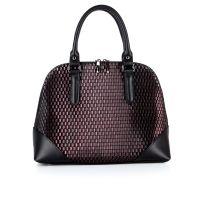 Классическая женская кожаная сумка ASSA, с геометрическим принтом